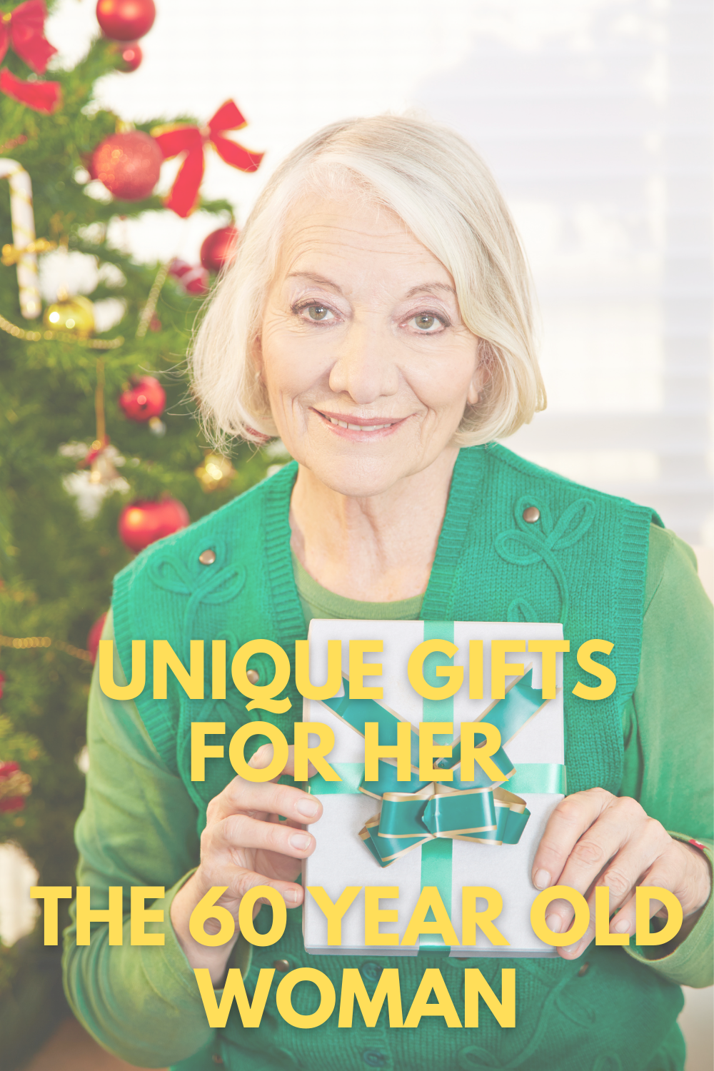 Unique Gifts for Her The 60 Year Old Woman