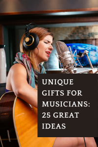 Unique Gifts for Musicians 25 Great Ideas